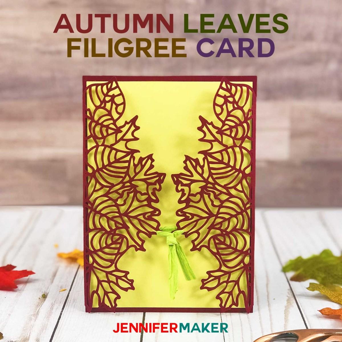 Fall Wedding Invitation Make Autumn Fall Wedding Invitations And Cards Jennifer Maker