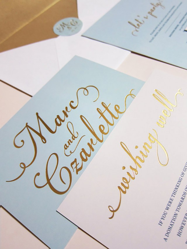 Foil Stamped Wedding Invitations Astounding Cheap Foil Stamped Wedding Invitations Wwwbilderbeste