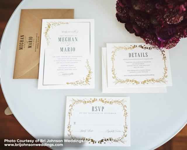 Foil Stamped Wedding Invitations Foil Stamped Wedding Invitations North Bergen Nj Remco Press