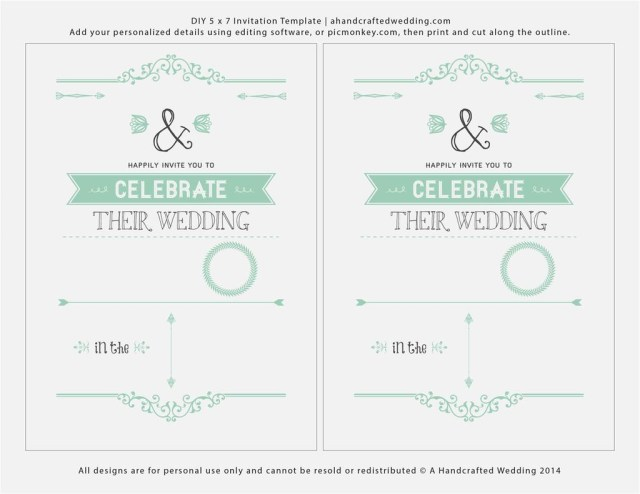 Free Printable Wedding Invitation Templates For Word Free Printable Wedding Invitation Templates For Microsoft Word