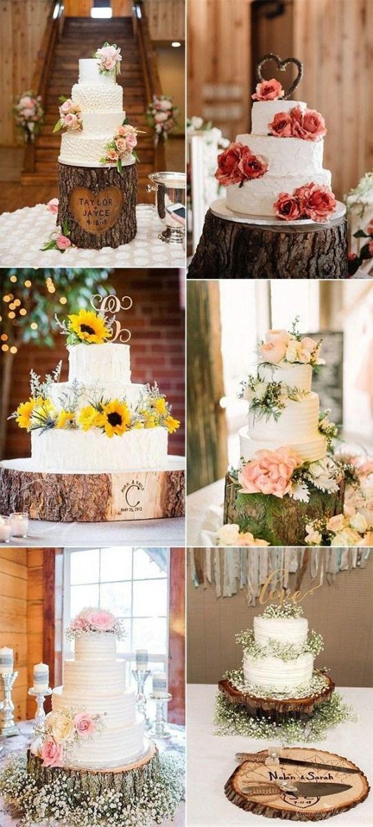 Fun Wedding Decor 28 Country Rustic Wedding Decoration Ideas With Tree Stumps 2825038