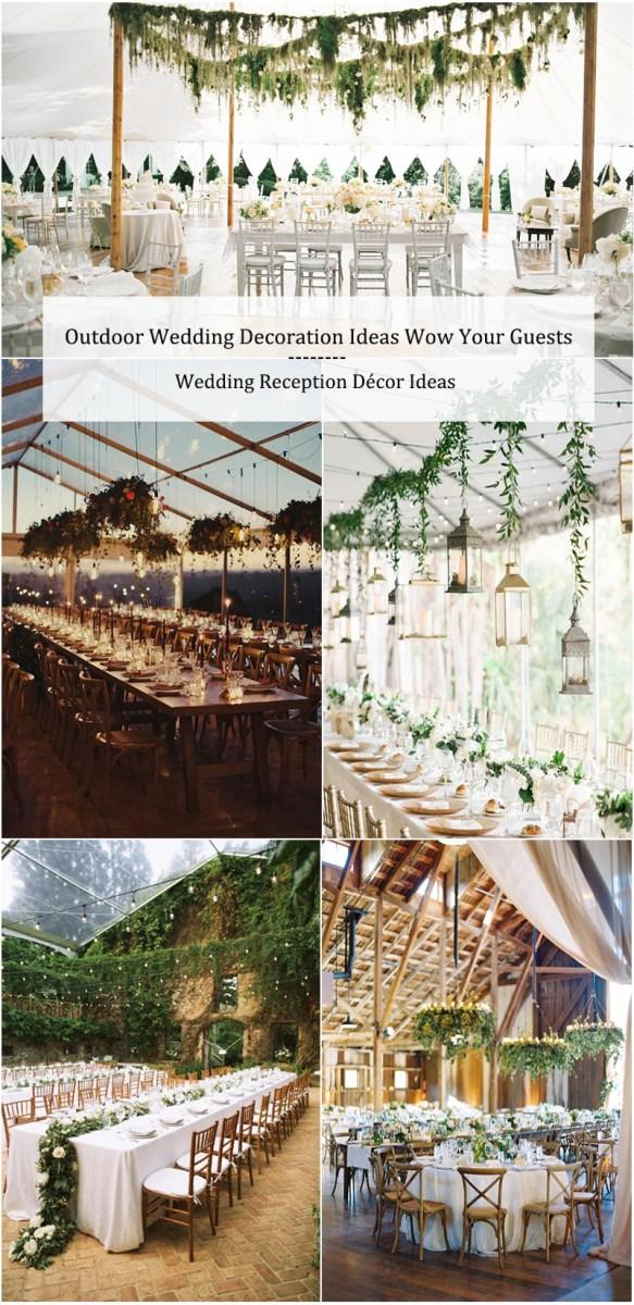 Fun Wedding Decor 30 Outdoor Wedding Decoration Ideas Wow Your Guests