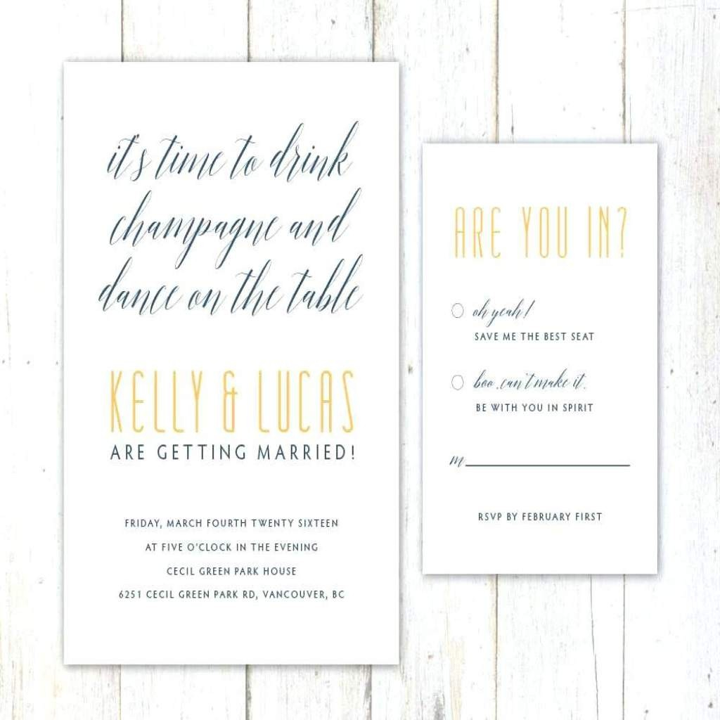 Funny Wedding Invitation Wording Funniest