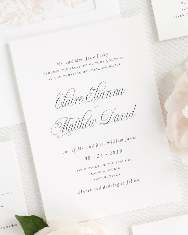 Garden Wedding Invitations Elegant Garden Wedding Invitations Wedding Invitations