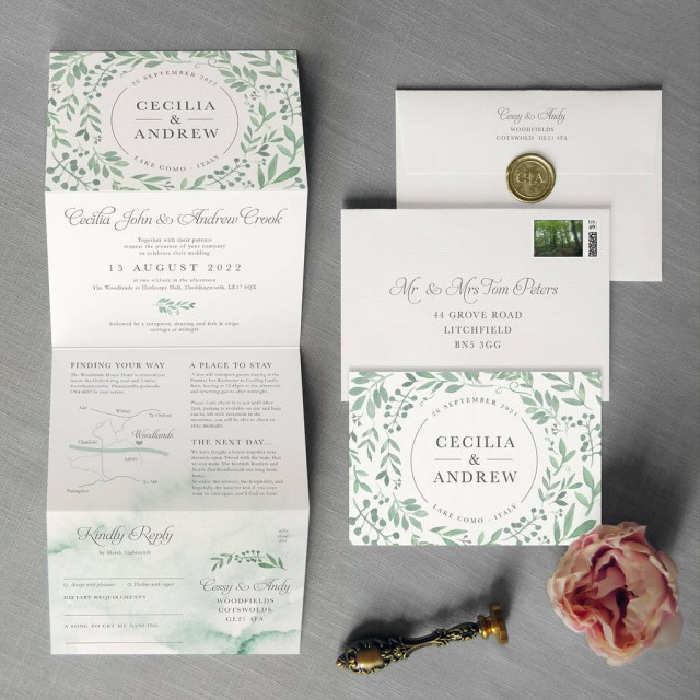 Garden Wedding Invitations Secret Garden Wedding Invitation Feel Good Wedding Invitations
