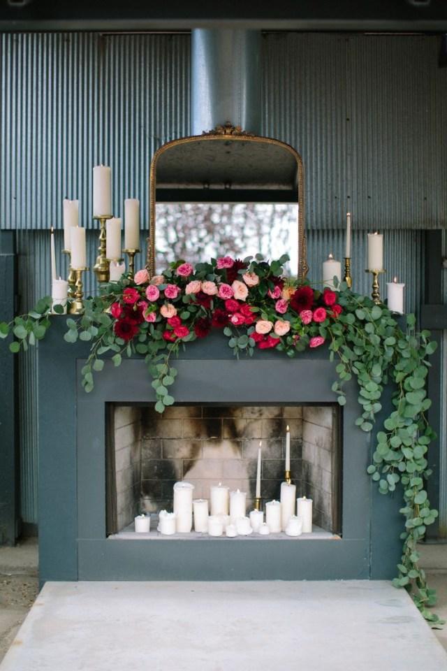 Garland Wedding Decor 27 Greenery And Floral Garland Wedding Decoration Ideas