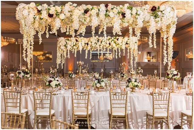 Glamourous Wedding Decor Drury Lane Theatre And Conference Center Wedding Flowers And