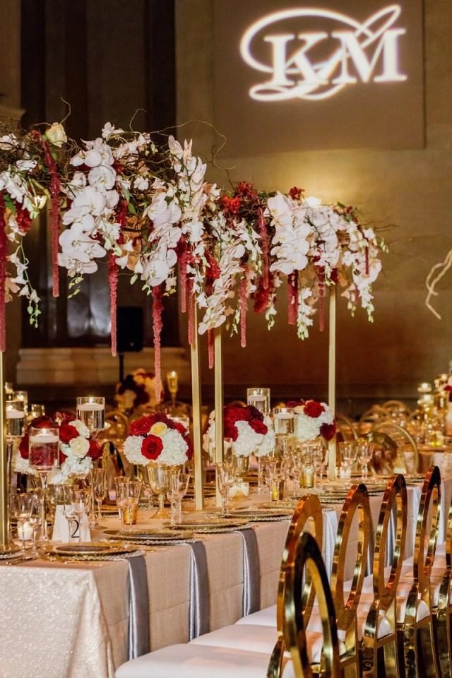 Gold Wedding Decor Reception Dcor Photos Gold Wedding Decor Inside Weddings