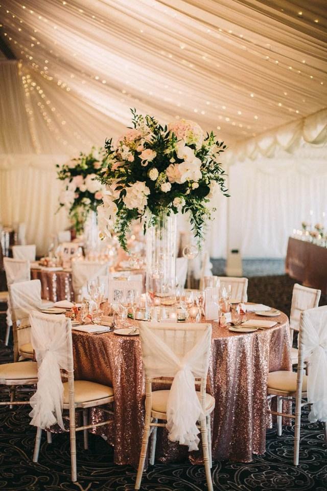 Gold Wedding Decor Rose Gold Wedding Theme Wedding Ideas Colour Chwv