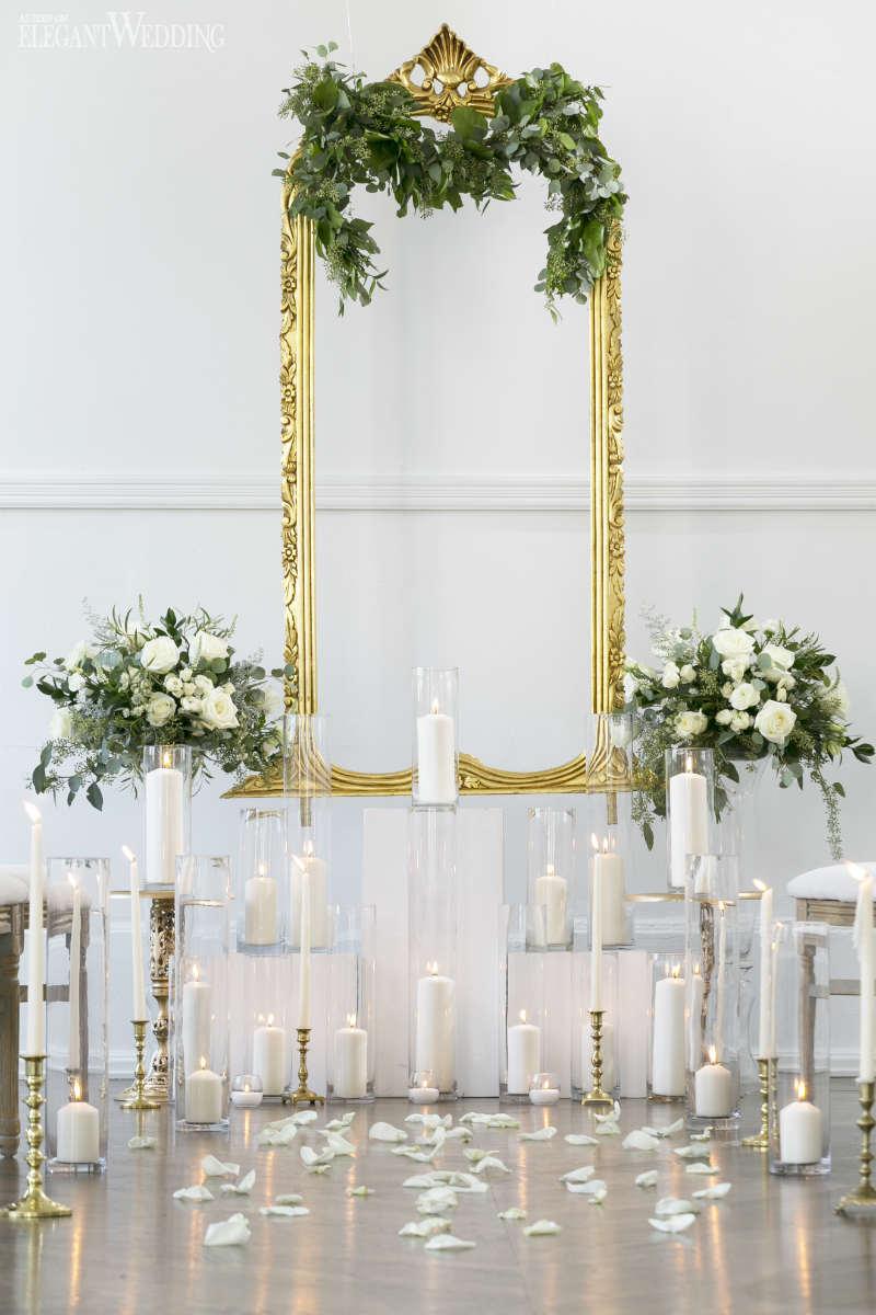 Gold Wedding Decor Vintage Green And Gold Wedding Ideas Elegantweddingca