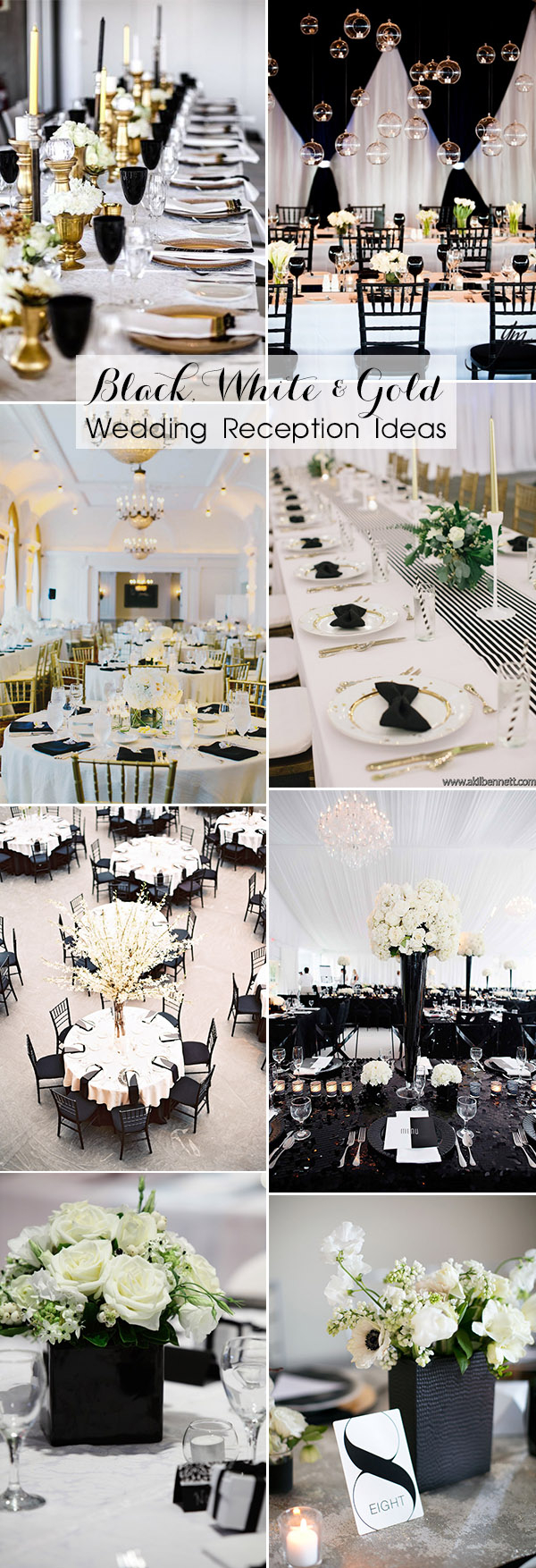 Gold Wedding Ideas Decoration 40 Most Inspiring Classic Black And White Wedding Ideas