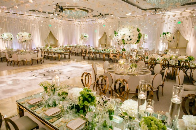 Gold Wedding Ideas Decoration Rose Gold Wedding Ideas For Ceremony Reception Dcor Inside Weddings