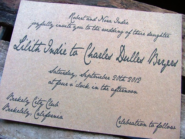 Handwritten Wedding Invitations Handwritten Wedding Invitations Handwritten Wedding Invitations