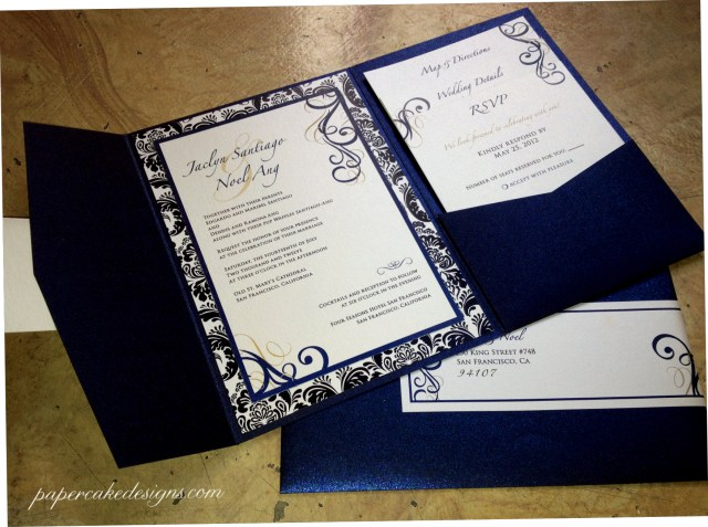 How To Stuff Wedding Invitations Diy Print Assemble Wedding Invitations Papercake Designs Within