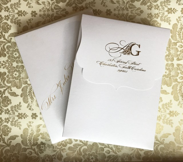 How To Stuff Wedding Invitations How To Assemble Wedding Invitations With Inner Envelope