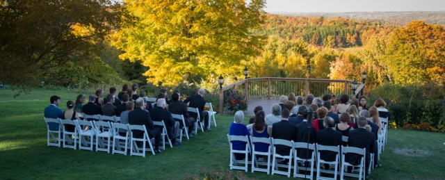 Intamite Wedding Ceremony Small Intimate Weddings The French Manor Inn And Spa