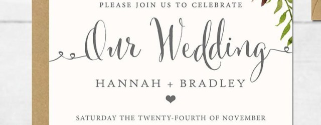 Invitation Layout For Wedding 16 Printable Wedding Invitation Templates You Can Diy Future