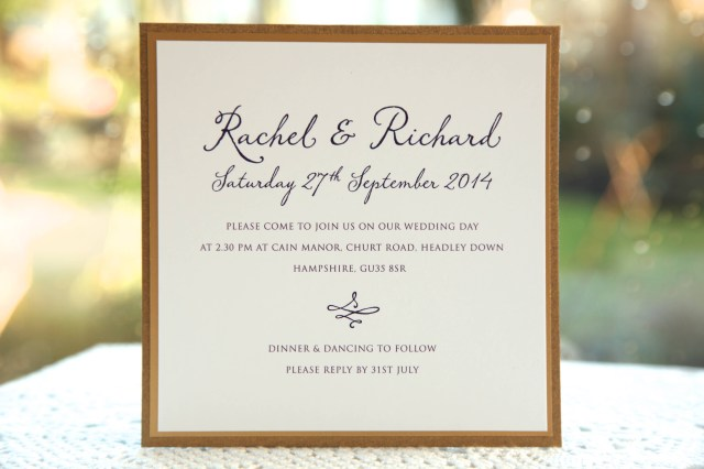 Invitation To Our Wedding Introducing Lavinia Wedding Invitation Ivy Ellen Wedding