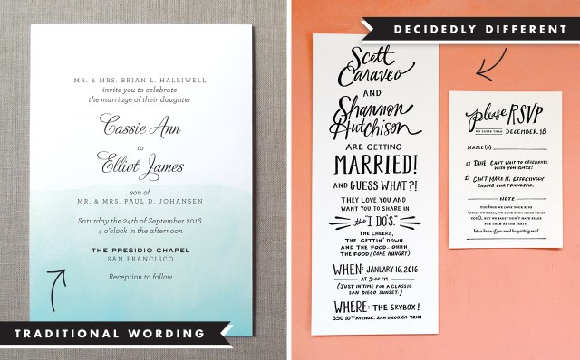 Invitation To Our Wedding Wedding Invitation Wording And Etiquette