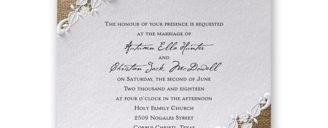 Invitations For Wedding Lacy Dream Invitation Invitations Dawn