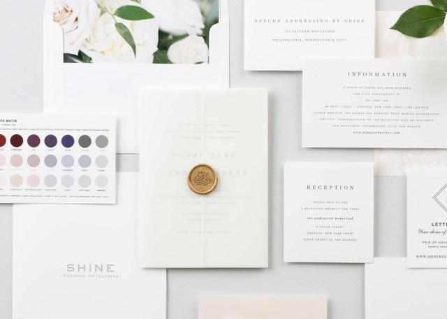 Invitations For Wedding Shine Wedding Invitations Luxury Wedding Invitations For Modern