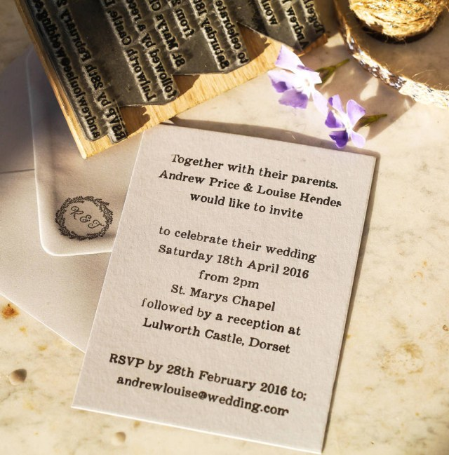 Invitations For Wedding Wedding Invitation Stamp English Stamp Company