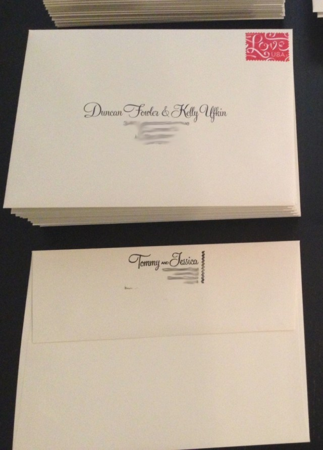 Labels For Wedding Invitations How To Address Wedding Invitations In Stylish How To Address Wedding