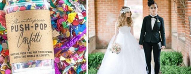 Leabian Wedding Ideas 15 Cute Lesbian Wedding Ideas Hative