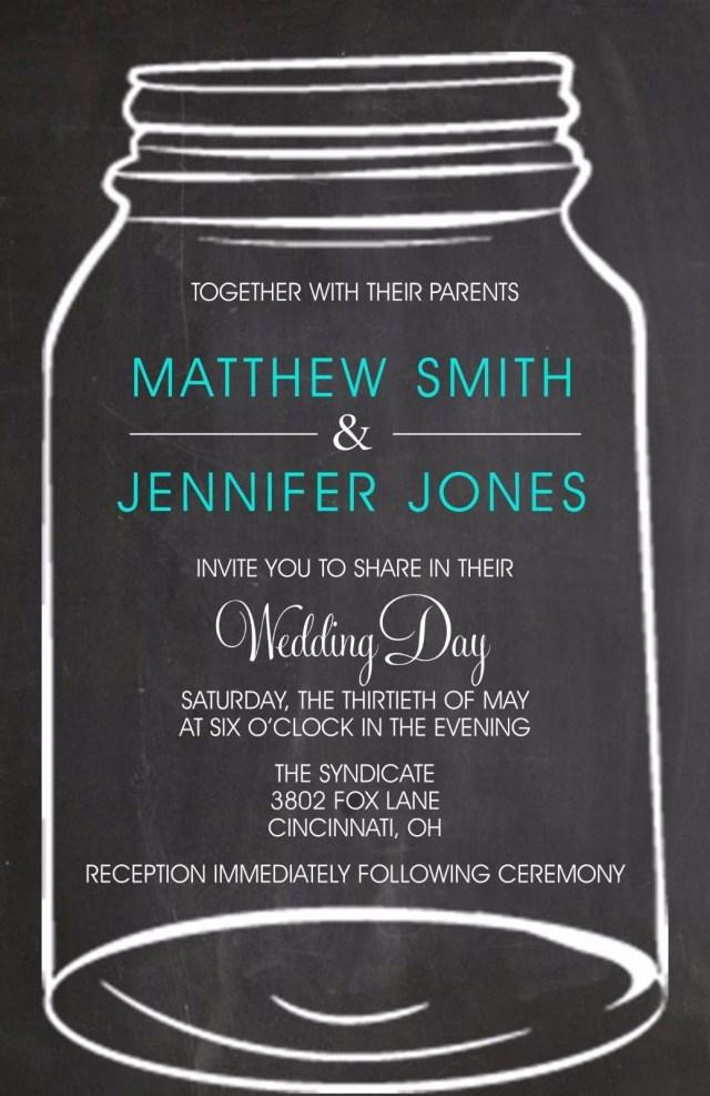 Mason Jar Wedding Invitation Kits Wedding Invitations Mason Jar Country 50 50 Invitations Rsvp