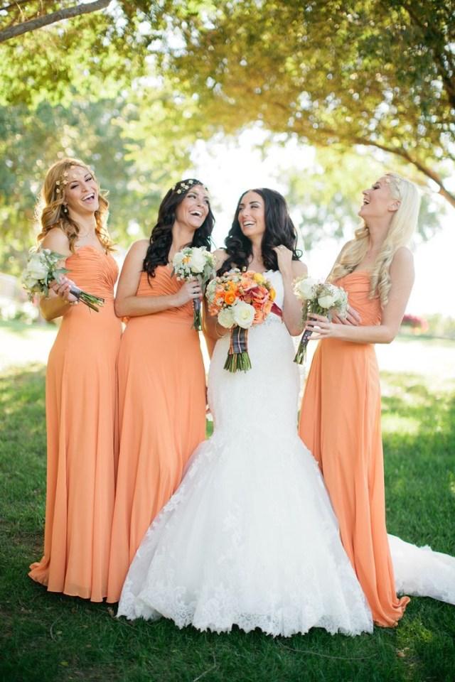 May Wedding Ideas We Are Totally Crushing On These Orange Wedding Ideas