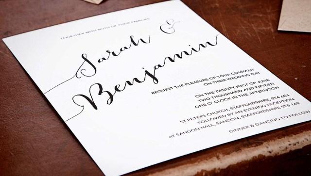 Modern Wedding Invitations Emmy Designs Unique Invitation Designs