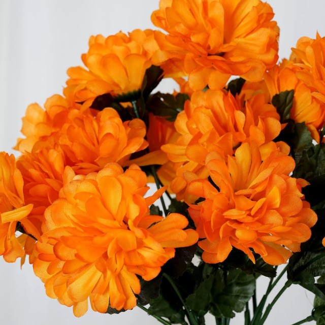 Mums Wedding Decor 84 Chrysanthemum Mums Balls Artificial Wedding Flowers For