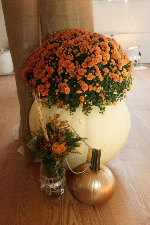 Mums Wedding Decor Pumpkin14 Happywedd