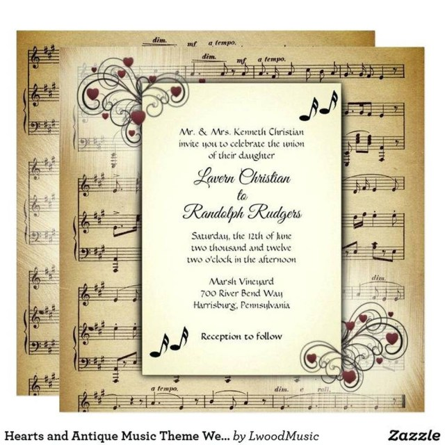 Music Themed Wedding Invitations Themed Wedding Invitations Uk Cinderella Wedding Invitations Uk
