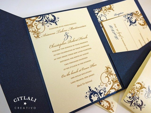 Navy Blue And Gold Wedding Invitations Blue And Gold Wedding Invitations Blue And Gold Wedding Invitations