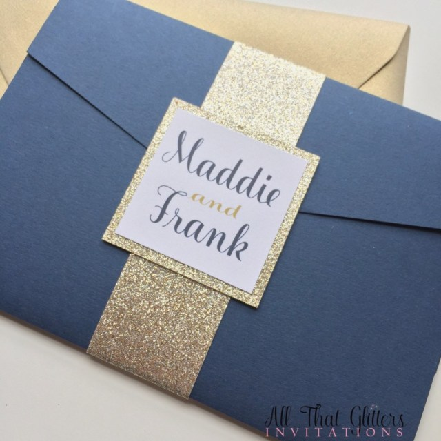 Navy Blue And Gold Wedding Invitations Navy Blue And Gold Wedding Invitations Fresh Champagne And Navy