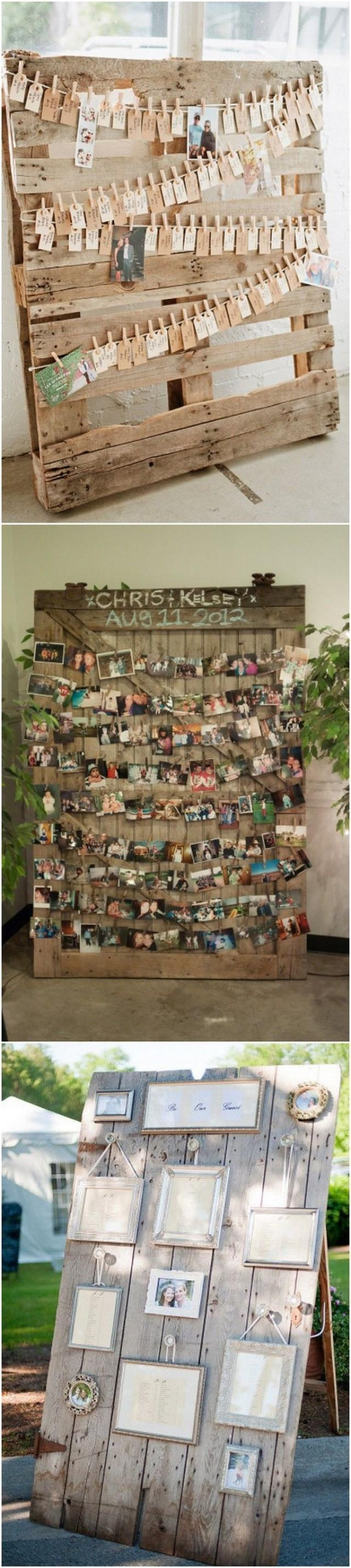 Pallets Wedding Ideas 24 Ideas To Use Wood Pallet For Your Country Wedding 2773926 Weddbook