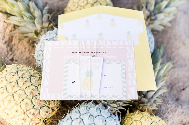 Pineapple Wedding Decor Couture Events Cavin Elizabeth Tropical Estate Wedding Shoot