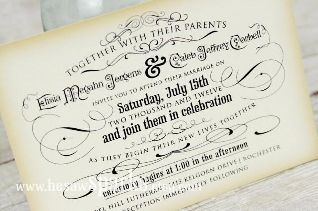 Plain Wedding Invitations Others Printable Wedding Invitation Card Designed Hesawsparks