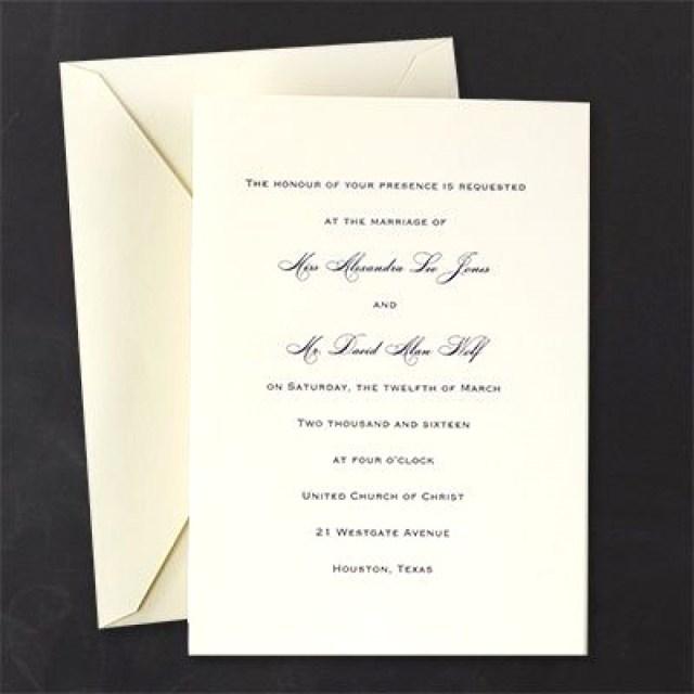 Plain Wedding Invitations Plain Wedding Invitations Wadatlanta