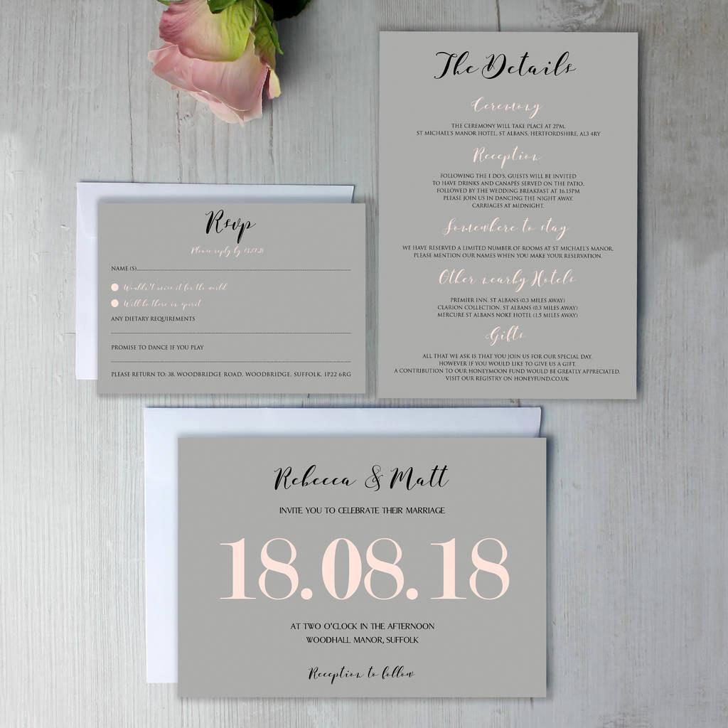 Post Wedding Brunch Invitations Breakfast Invitation
