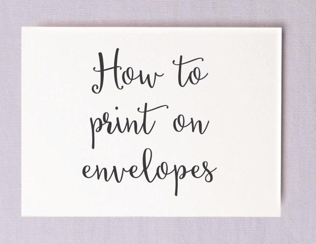 Print Your Own Wedding Invitations Save Money On Calligraphy Printing Your Own Wedding Envelopes