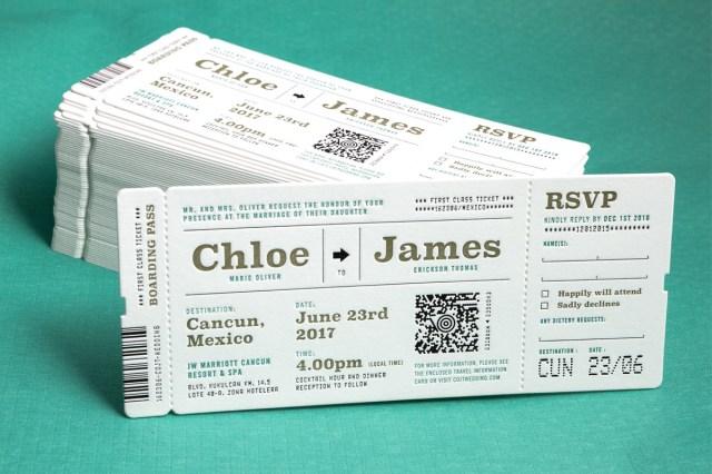 Printed Wedding Invitations Custom Printed Wedding Invitations Jukebox