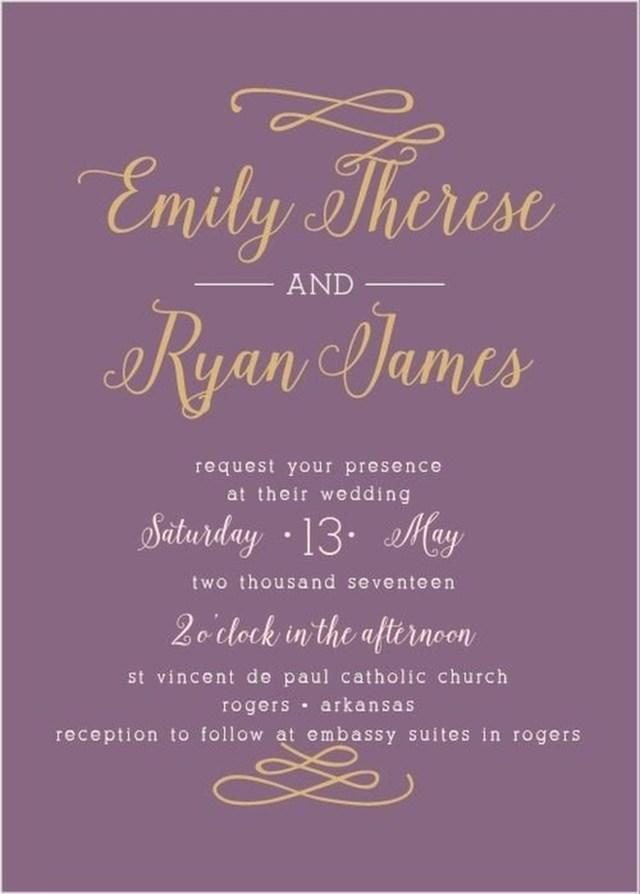 Purple Wedding Invitation Kits 206458 Purple Wedding Invitations Kits New Invitations Template