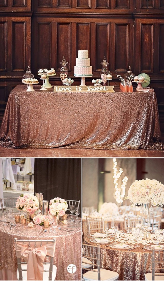 Rose Gold Wedding Decorations 2019 Wedding Trends Chic Rose Gold Wedding Ideas