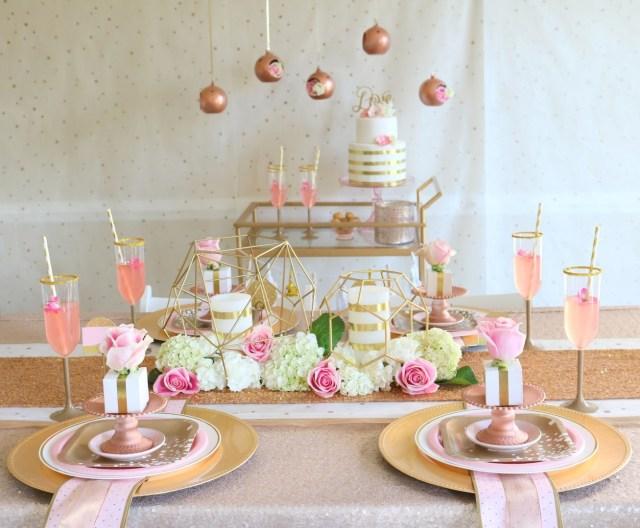 Rose Gold Wedding Decorations Rose Gold Wedding Fun365