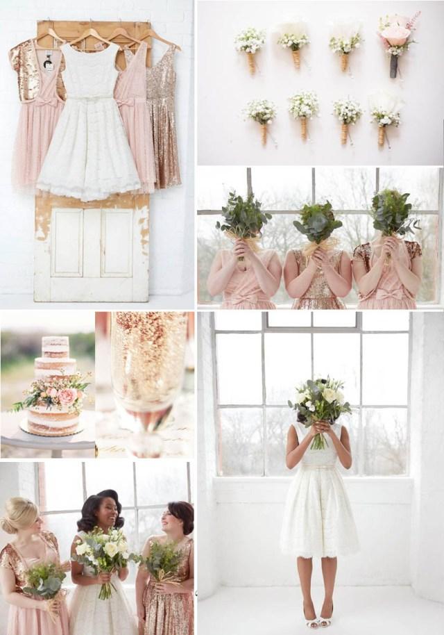 Rose Gold Wedding Decorations Vintage Wedding Theme Rose Gold Blush Joanie Clothing Joanie