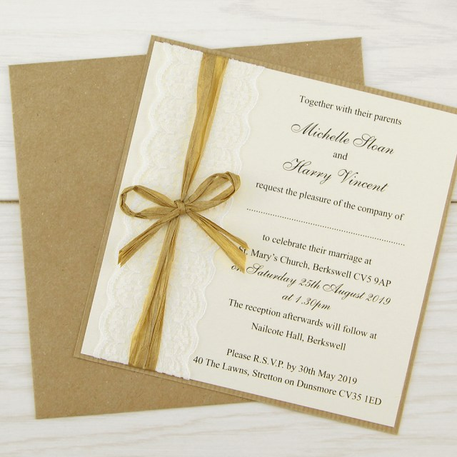 Rustic Lace Wedding Invitations Rustic Themed Wedding Invitations Free Samples Pure Invitation