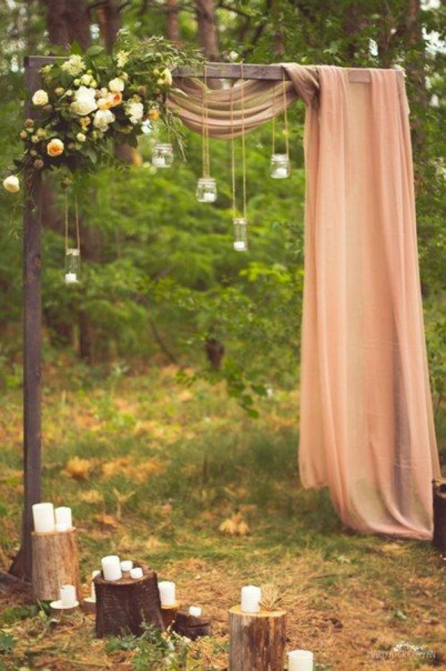 Rustic Wedding Altars 30 Best Floral Wedding Altars Arches Decorating Ideas Stylish