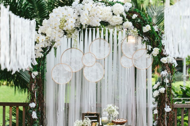 Rustic Wedding Altars 6 Trending Wedding Themes For 2016 And How To Style Them